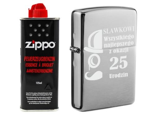 Zapalniczka Zippo 200 Brushed Benzyna Grawer 9983639541 Allegro Pl