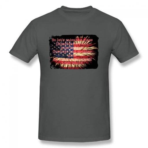 Jake Owen American meski podkoszulek t-shirt 10679179121 Odzież Męska T-shirty XD SRYAXD-5