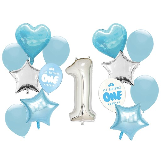 Zestaw Balony Na Roczek Pierwsze Urodziny Chlopca 9255517998 Allegro Pl