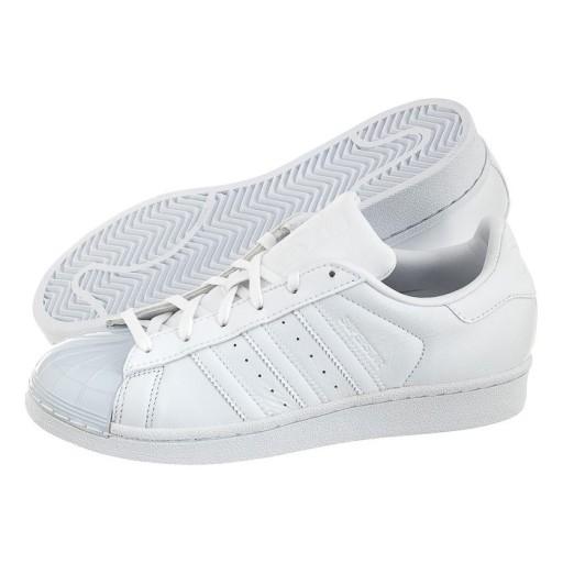 buty adidas superstar glosse białe