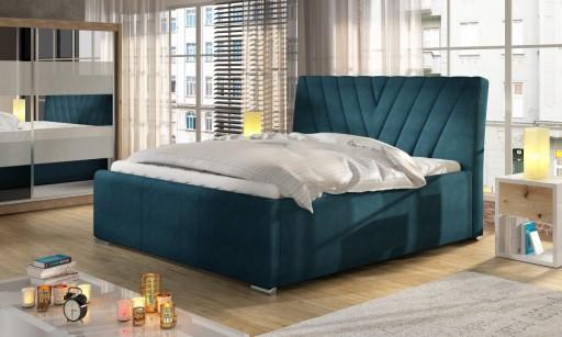 Łóżko tapicerowane Nevada 160x200
