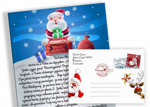 List Od Swietego Mikolaja Mikolajki Swieta Prezent 9807487474 Allegro Pl