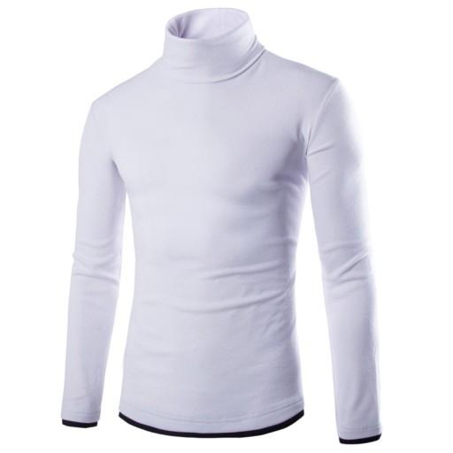 Dzianina męska Męski sweter z golfem na jesień i z 9620065170 Odzież Męska Swetry DK MBNFDK-1