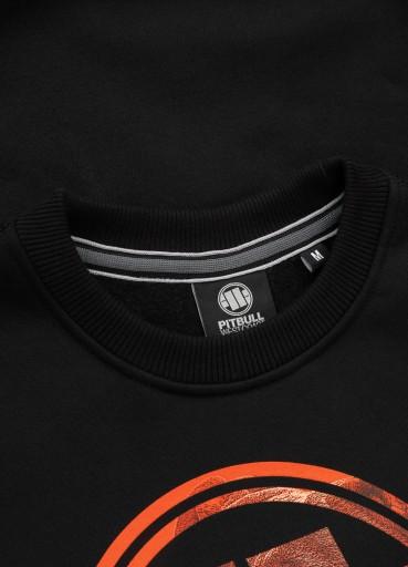 Pitbull Bluza Orange Dog (S) Czarna 9700669862 Bluzy Męskie Bluzy JZ TSMXJZ-3