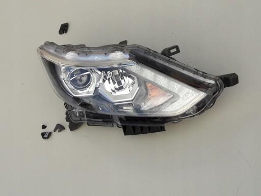 Reflektor lampa prawa Full Led Nissan Qashqai II
