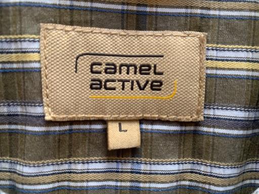 CAMEL ACTIVE ** REWELACYJNA KOSZULA ** L/XL ** 10737071764 Odzież Męska Koszule VU THKNVU-2