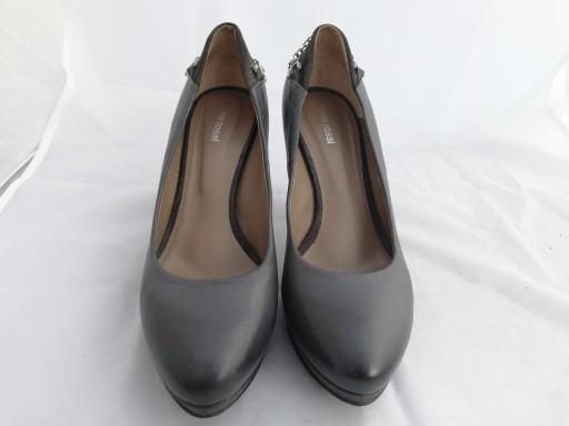 Buty czółenka skórzane Gino Rossi r.38,wkł 25,5 cm