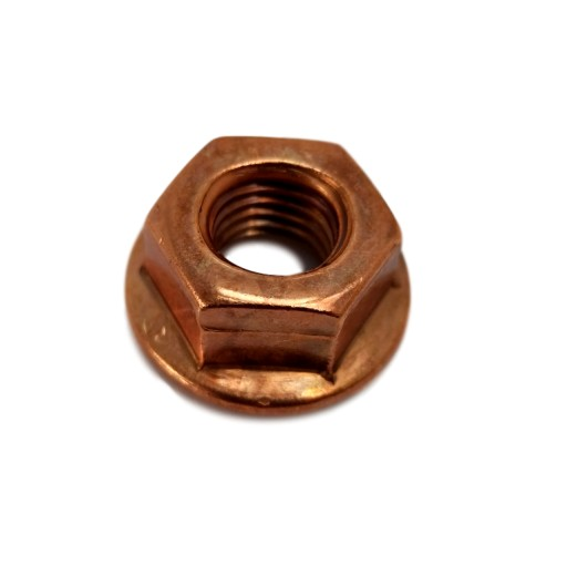 NUT COPPER z COLLAR M8