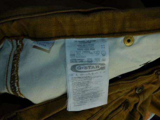G-Star Arc 3d loose tapered coj spodnie W33L32 10731586101 Odzież Męska Jeansy OF PUDEOF-4