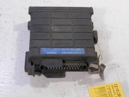 MB W124 COMPUTER ENGINE 2,0 0280800100 0025453632