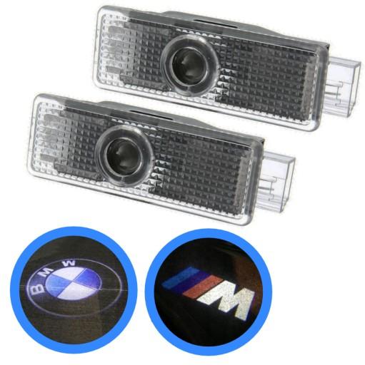 PROJEKTAS LED LOGO DO BMW E87 E60 E90 X3 X5 X6 F10