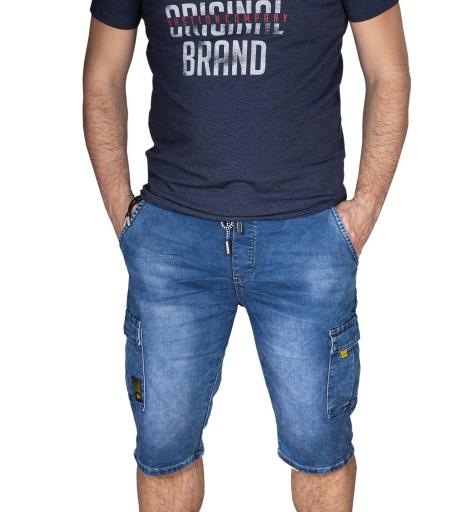 Spodenki męskie jeansowe bojÓwki niebieskie 34 10705312985 Odzież Męska Spodenki QA DDFIQA-2
