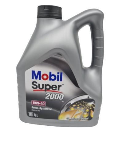 MOBIL SUPER 2000 X1 10W40 4L BENZYNA