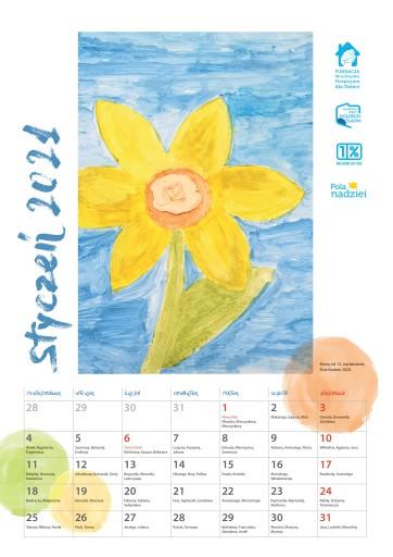 Kalendarz Pola Nadziei Na Rok 2021 Zbiorka 9961830596 Charytatywni Allegro