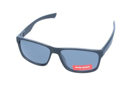 Okulary Przeciwsloneczne Meskie Solano Ss 20861 B 9243529508 Allegro Pl