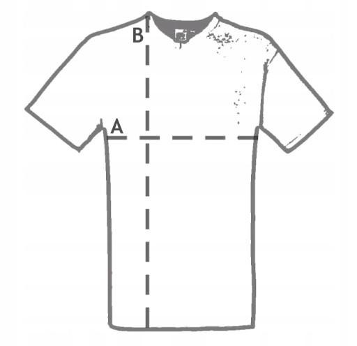 KOSZULKA T-SHIRT Z KRÓTKIM RĘKAWEM Brooklyn 11 10175890323 Odzież Męska T-shirty WR WAPJWR-4