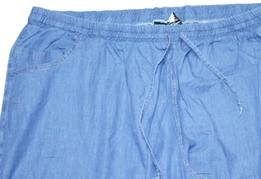 7XL DUŻE LEKKIE SPODNIE JEANS/DRES PAS DO 140CM 10768262779 Odzież Męska Spodnie CT FIORCT-8