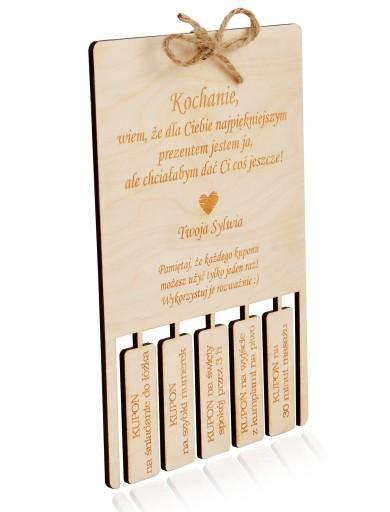 Prezent Walentynki Dla Chlopaka Talon Bon Voucher 10060338008 Allegro Pl