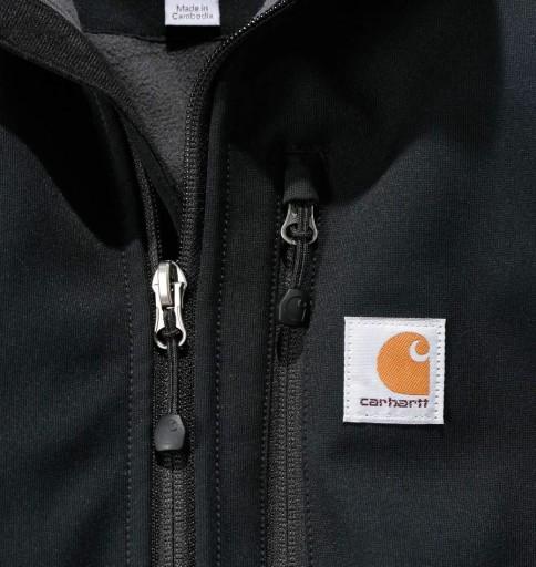 Softshell Carhartt Crowley Jacket BLACK - XL 10428127634 Odzież Męska Okrycia wierzchnie YL XXVAYL-7