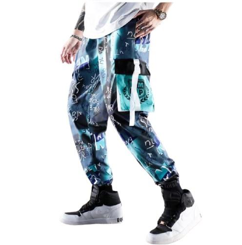 hip-hopowe Spodnie Dresowe BojÓwki Streetwear 10196640738 Odzież Męska Spodnie PI FBVSPI-5