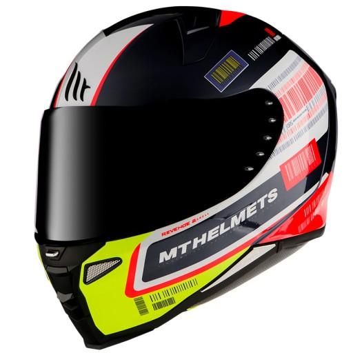 Kask Motocyklowy Mt Helmets Revenge 2 Rs Fluo L Grojec Allegro Pl