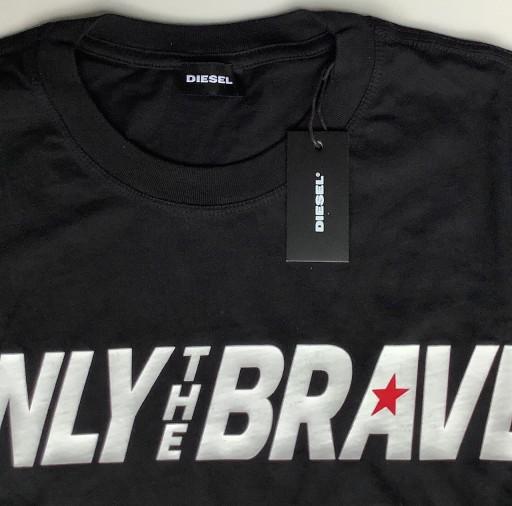 DIESEL oryginalny t-shirt r. L/XL 10110716396 Odzież Męska T-shirty QG PZXJQG-2