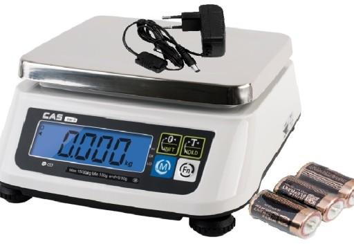Cas Sr30 30kg Waga Elektroniczna Liczaca Kontrolna 7340340694 Allegro Pl
