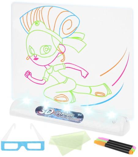 Tablica 3d Tablet Do Rysowania Pisania Dla Dzieci 9371479611 Allegro Pl