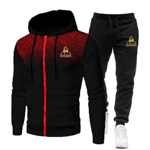 Dressit Men's Set Winter Hoodshirt 2 z Ach. M. 10661408941 Bluzy Męskie Bluzy OD DOEDOD-9