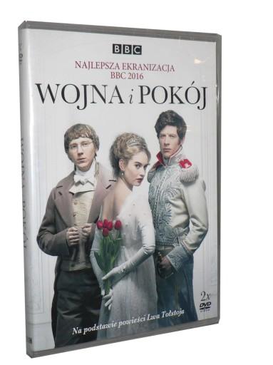 2DVD - WOJNA I POKÓJ - BBC(2013)- B.Cox nowa folia