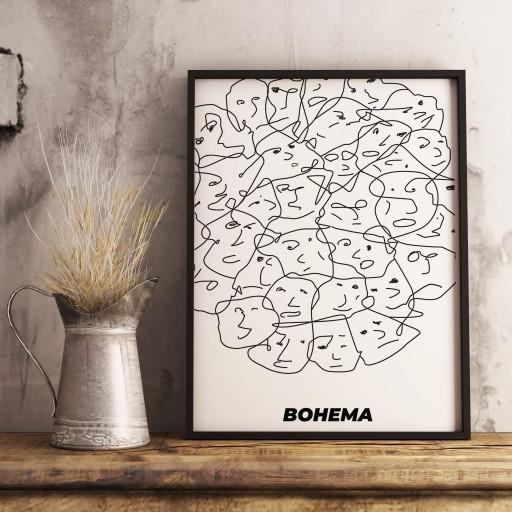 """Plakat """"Bohema"""""""