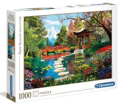 PUZZLE 1000 EL. HQ Ogród Fuji 39513 Clementoni
