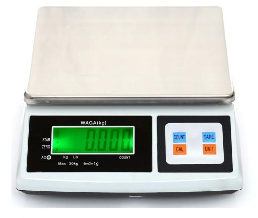 Waga 30kg 1g Elektroniczna Sklepowa Liczasza Szt 9220991909 Allegro Pl