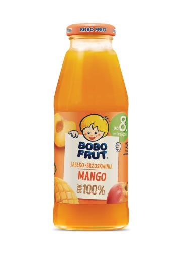 BOBO FRUT sok jabłko brzoskwinia mango 300ml