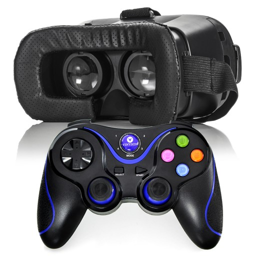 OKULARY GOGLE VR BOX 3D 360+PAD do HUAWEI SAMSUNG