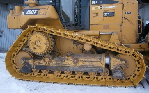 TRACKS CHAINS CHASSIS THE WHEEL CAT D6N XL LGP