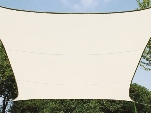 żagiel Przeciwsłoneczny Prostokątny 2x3 Kremowy 8248440201 Allegro Pl