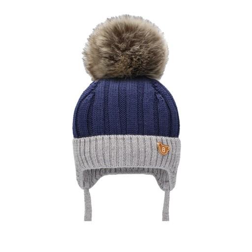 BARBARAS Zimowa jesienna czapka WN14 r.36-38