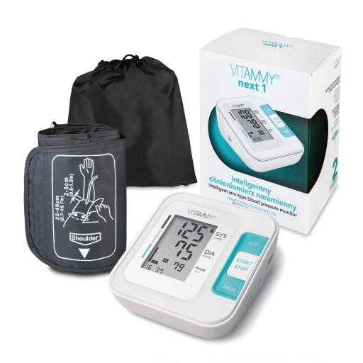 Ciśnieniomierz naramienny 22-40cm USB arytmia WHO