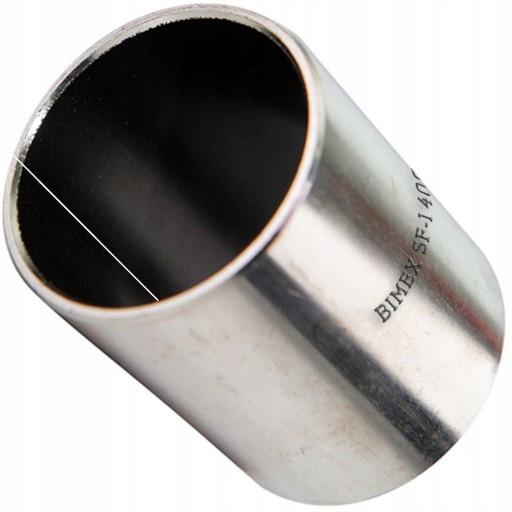 Tuleja ślizgowa stalowa brąz PTFE Tulejka 10x12x20