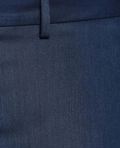 ZARA__MXB GRANATOWE SPODNIE ELEGANCKIE W KANT__38 10777065694 Odzież Męska Spodnie AG PRJIAG-4