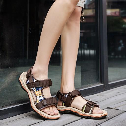 Buty sandały kapcie na lato trekkingowe męskie 10495609929 Obuwie Męskie Męskie LF UCATLF-2