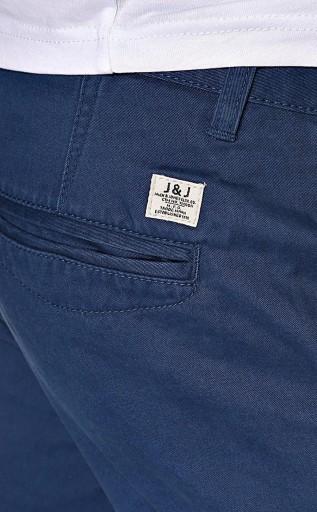 Jack Jones REGULARNE chinosy GRANATOWE _ 38/34 9818220937 Odzież Męska Spodnie TV CYAQTV-1