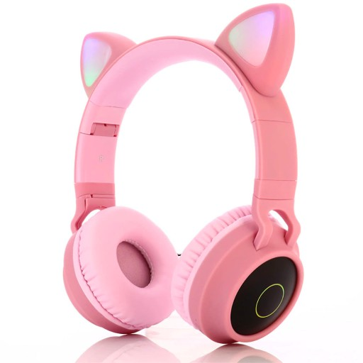 Bezprzewodowe Sluchawki Kocie Uszy Led Podswietlan 9504955183 Sklep Internetowy Agd Rtv Telefony Laptopy Allegro Pl