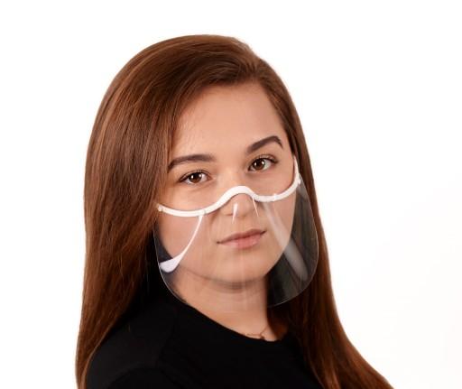 Przyłbica, maska na usta i nos - ULTRA-MINI