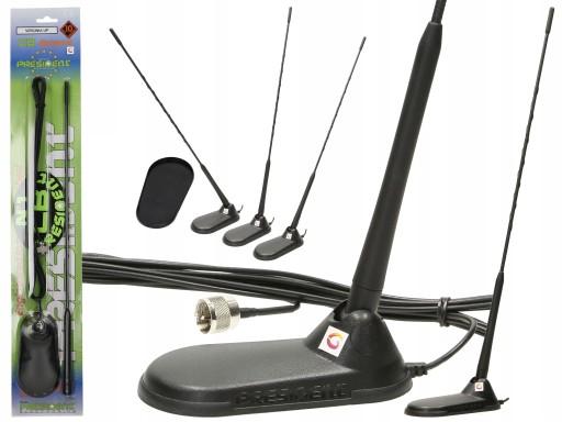 Antena Cb President Virginia Up 49 Magnetyczna Ap3 5266528650 Sklep Internetowy Agd Rtv Telefony Laptopy Allegro Pl