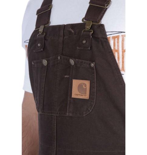 Ogrodniczki Carhartt USA amerykańskie SandstoneBib 9464781851 Odzież Męska Spodnie YC ZXTFYC-5