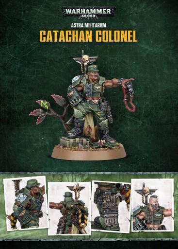 Warhammer 40k Catachan Colonel 350 Zl Stan Nowy 9556198597 Allegro Pl