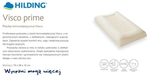 OD RĘKI HILDING VISCO PRIME poduszka medyczna 9446209539 - Allegro.pl