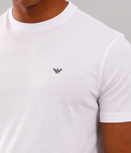 Oryginalny T-shirt Emporio Armani Italy White _ L 9596463098 Odzież Męska T-shirty OG HWLEOG-6